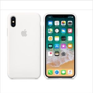 iPhone X Silicone Case Genuine Apple Product